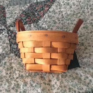 🧺 Longaberger 1998 Booking Basket.